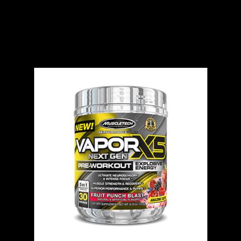 VaporX5 Next Gen 232g MUSCLETECH® Canary Sport