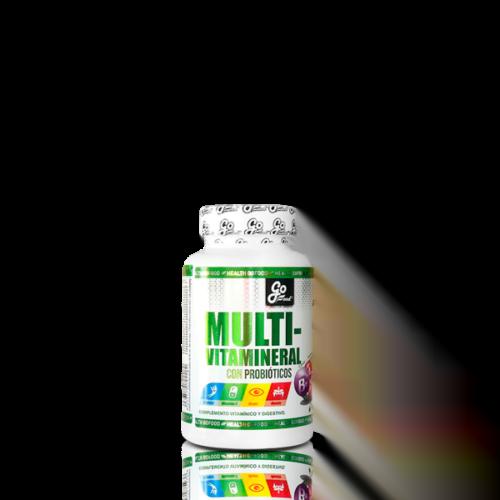Multi-Vitamineral con Probióticos 60Caps GOFOOD® Canary Sport