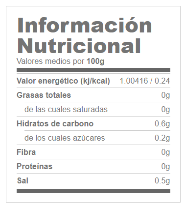 Indian Salsa Natural 350ml GOFOOD® Canary Sport