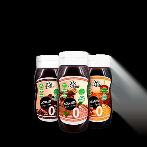 Siropes Naturales 350ml GOFOOD® Salsas y Siropes Naturales Canary Sport