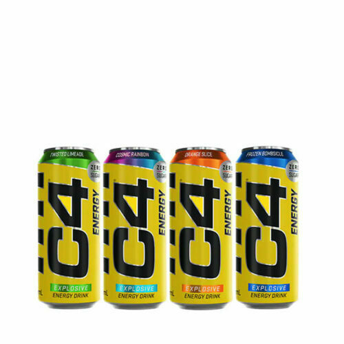 Lata C4 ENERGY 500ml CELLUCOR® Canary Sport