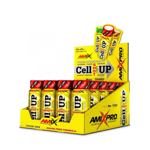 CellUp Energy Shot 20 Viales AMIX® Canary Sport