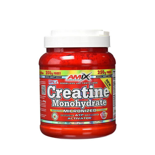 Creatina Monohidrato 500g + 250g GRATIS AMIX® Creatinas Canary Sport