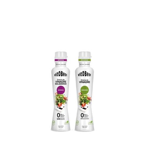 Cremas de Vinagre 225g VITOBEST® Alimentación Saludable Canary Sport