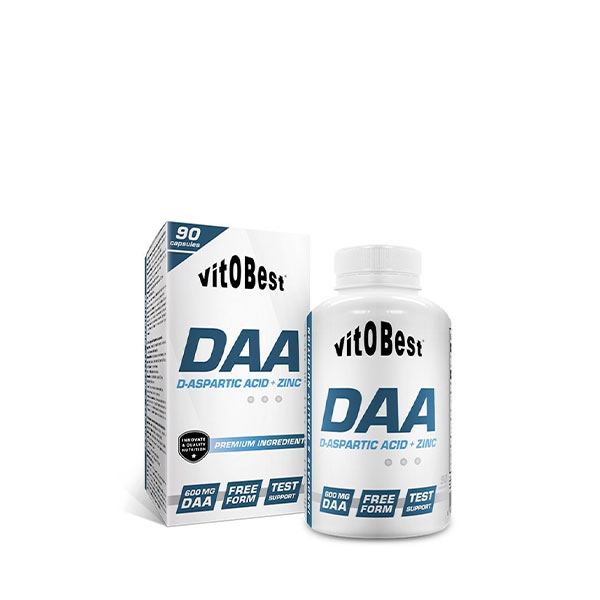 DAA (Ácido D-Aspártico) + Zinc 90 Caps VITOBEST® Canary Sport