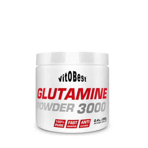 Glutamine 3000 200g VITOBEST® Recuperadores Canary Sport