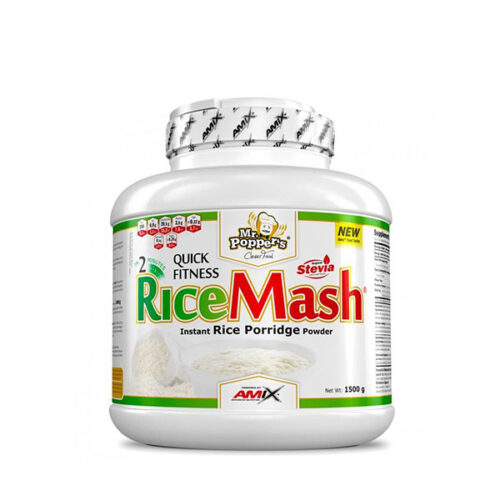 Harina de Arroz Mr. Popper´s RiceMash® 1,5kg AMIX® Alimentación Saludable Canary Sport