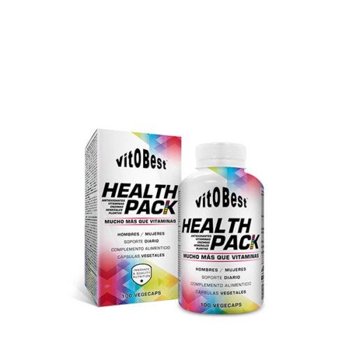 Health Pack 100 Caps VITOBEST® Bienestar Canary Sport