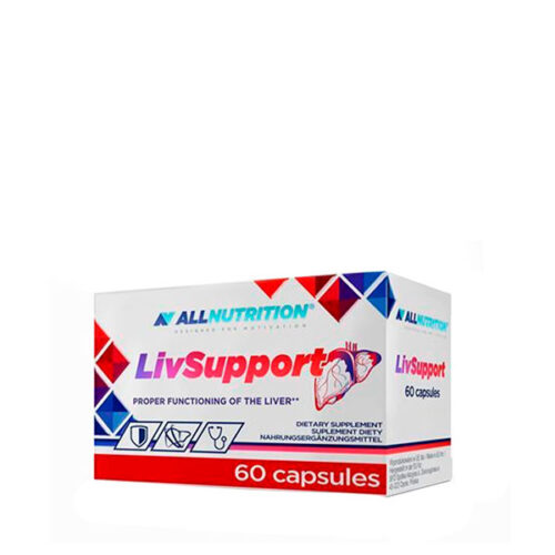 Livsupport 60 Caps ALL NUTRITION® ALL NUTRITION® Canary Sport