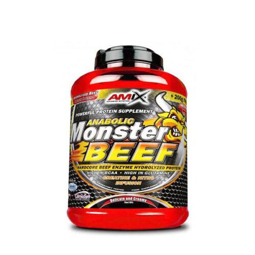 Proteína de Ternera Monster BEEF 1kg AMIX® Postentreno Canary Sport