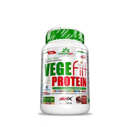 Proteína Vegetal Vegefiit Protein 720g-2kg AMIX® Postentreno Canary Sport