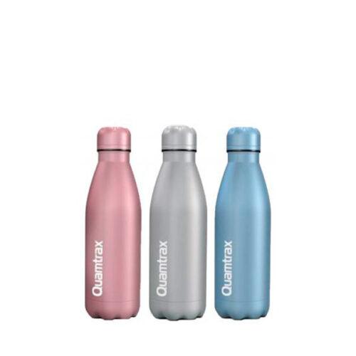 Botella Cantimplora Metálica 500ml QUAMTRAX® Accesorios Deportivos Canary Sport