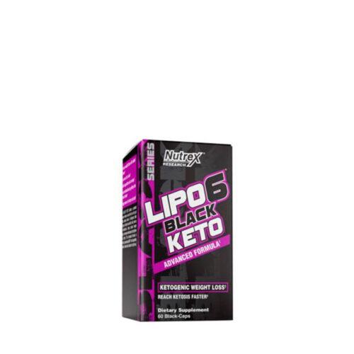Lipo 6 Black Keto 60 Caps NUTREX® NUTREX® Canary Sport