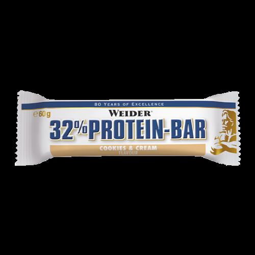 32% Protein Bar 24 WEIDER® Alimentación Saludable Canary Sport