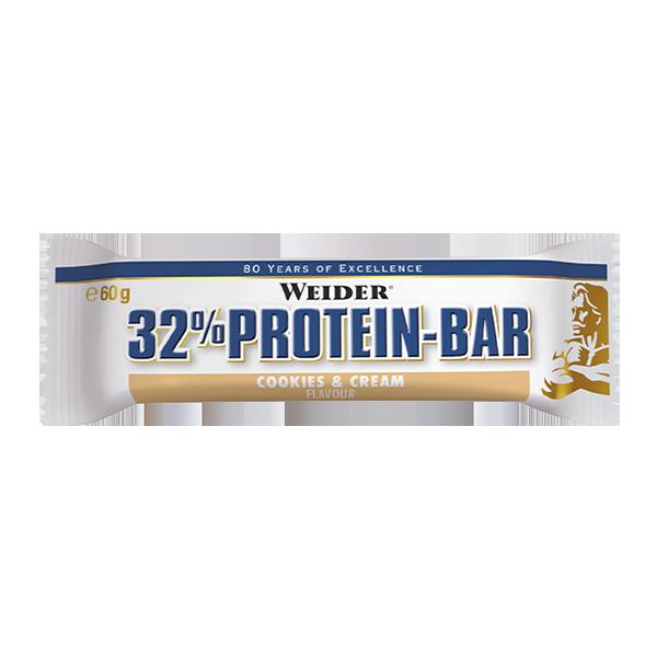 32% Protein Bar 24 WEIDER® Canary Sport