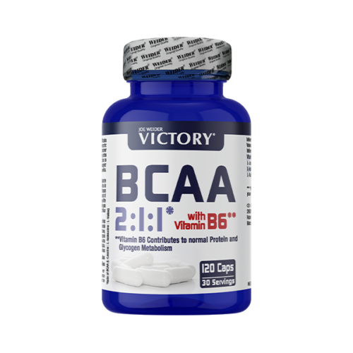 BCAA 2:1:1 120Caps Victory WEIDER® Aminoácidos Canary Sport