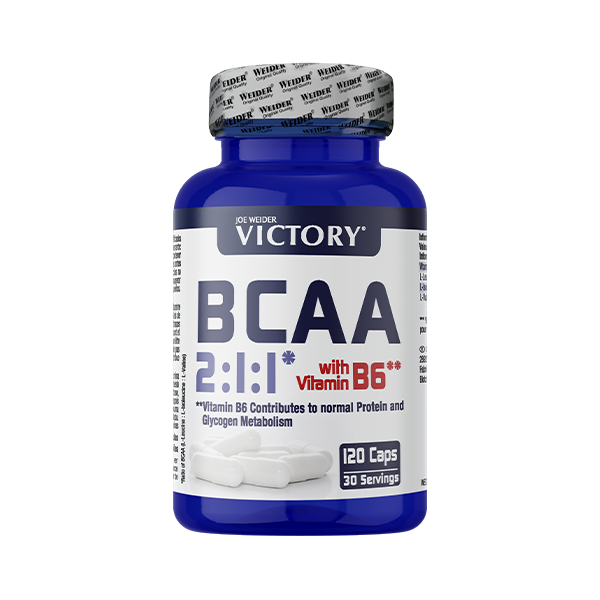 BCAA 2:1:1 120Caps Victory WEIDER® Canary Sport
