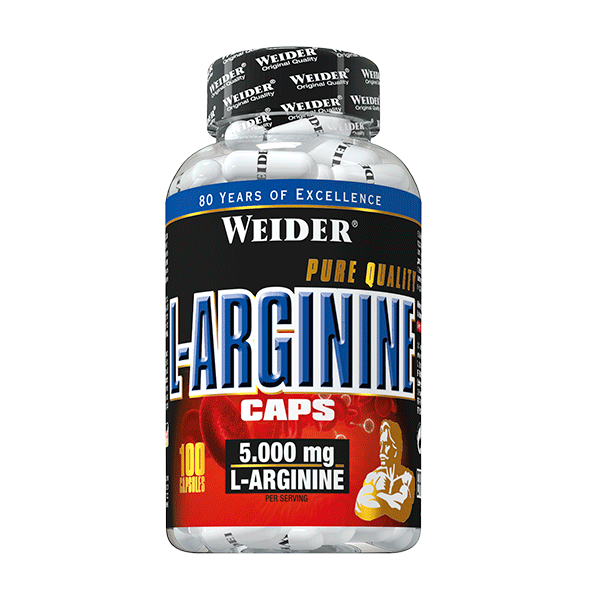 L-Arginina 100Caps WEIDER® Canary Sport
