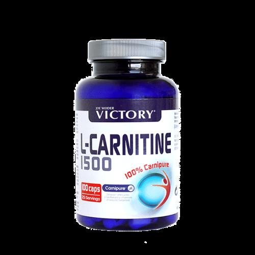 L-Carnitina 1500 - 100 Caps Victory WEIDER® Quemadores Canary Sport