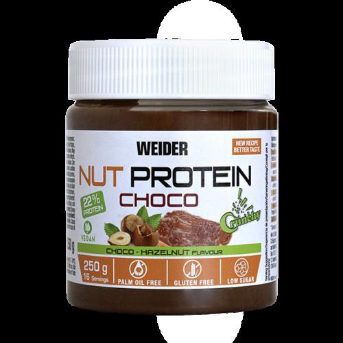 Nut Protein Choco Spread Vegan Crunchy 250g WEIDER® Cremas y Mermeladas Canary Sport