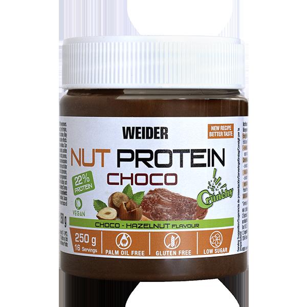 Nut Protein Choco Spread Vegan Crunchy 250g WEIDER® Canary Sport