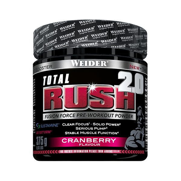 Total Rush 2.0 Cranberry 375g WEIDER® Canary Sport