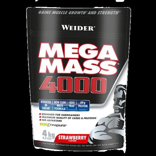 Mega Mass 4000 - 4kg WEIDER® Carbohidratos Canary Sport