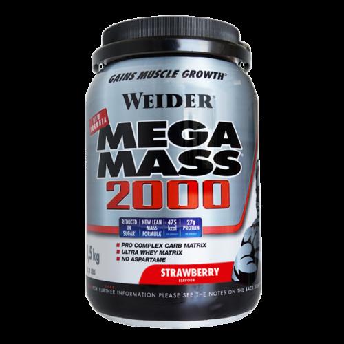 Mega Mass 2000 - 1,5kg WEIDER® Carbohidratos Canary Sport