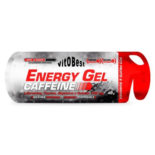 Energy Gel Caffeine 40g VITOBEST® Recuperadores Canary Sport