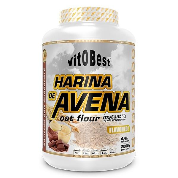 Harina de Avena 2kg VITOBEST® Canary Sport