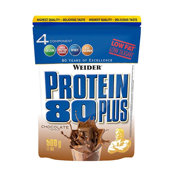 Protein 80 Plus 500g WEIDER® Canary Sport