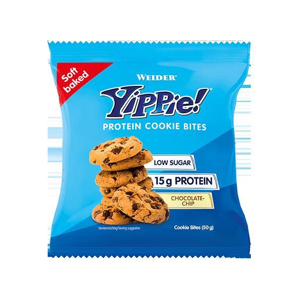 Yippie Protein Cookie Bites 50g WEIDER® Canary Sport